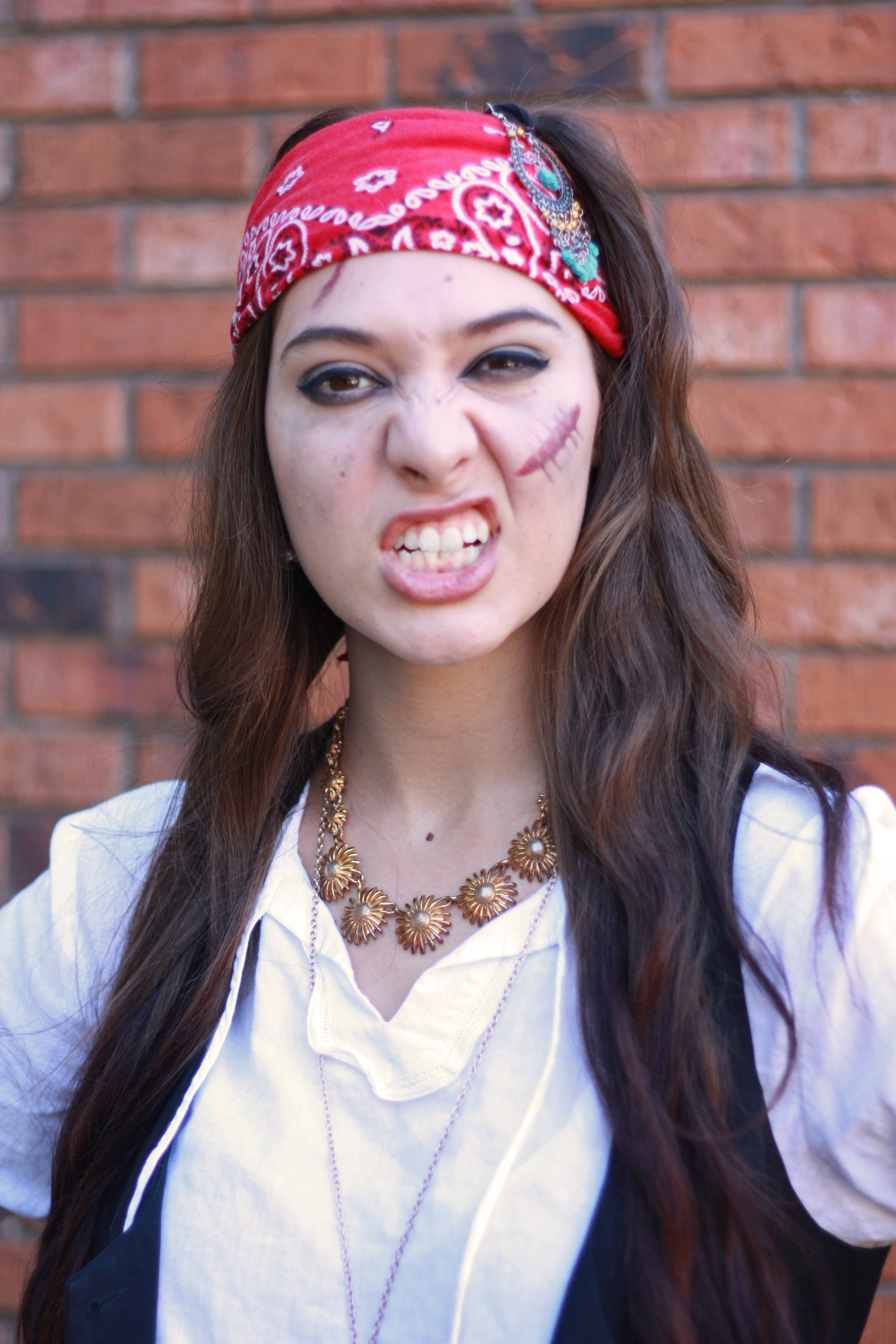 i feel like a pirate is probably the easiest of looks to pull together but still really deliver its all about detail a few fake wounds some schmutz on - Halloween Pirate Costume Ideas