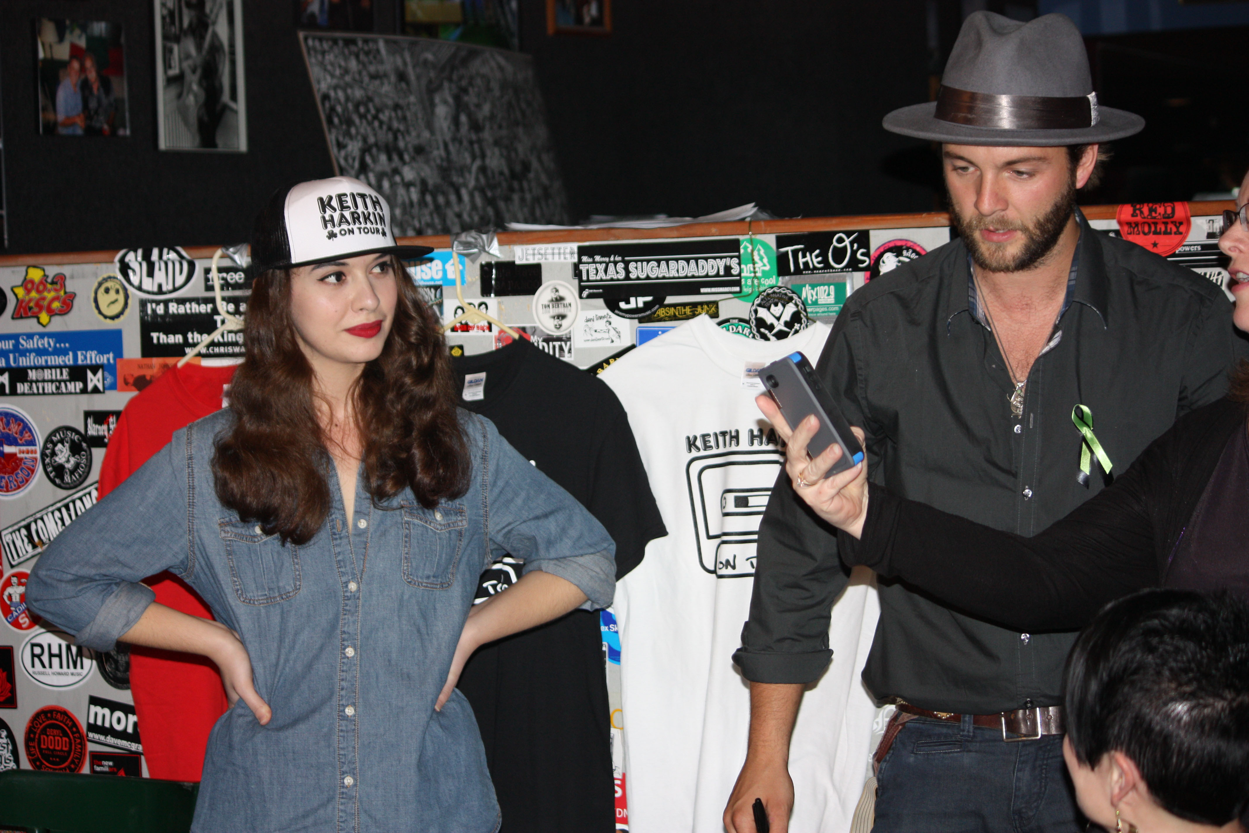 For kelsey nichols and keith harkin one touch click for details keith